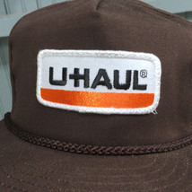 VTG U-Haul Moving Storage Patched Made in USA Snapback Baseball Cap Hat image 2