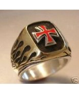 NORMAN Cross,Flame ring.....Sterling Silver - $79.00
