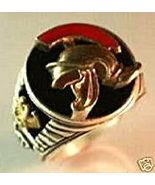 Roman Centurion Men's Signet ring,,Sterling Silver,Lg. - $74.00