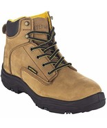 """""""Ultra Dry"""" Men's Premium Leather Waterproof Work Boots Insulated Rubber... - $181.22"""
