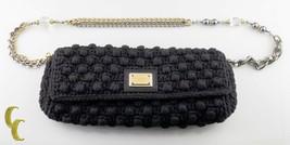 Dolce & Gabbana Klein Gehäkelt Miss Charles Clutch Schultertasche Verziert Band - $1,069.25