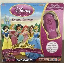 Disney Princess Dream Journey DVD Board Game - $14.03