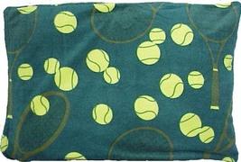 Tenis Fleece Pillowcase 20 x 30 - 2pc/pack (Green or Navy) - $19.99