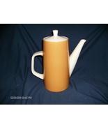 Vintage Mikasa Sunland Cera Stone Coffee Pot - $40.00