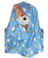 Counting Sheep Flannel Baby Blanket, handmade i... - $12.95