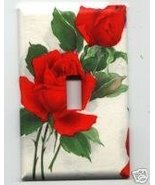 Beautiful Red Roses OS Single Light Switchplate Cover - $9.75