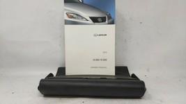 2012 Lexus Is350 Owners Manual 90757 - $32.17