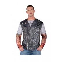 Underwraps Giacca da Motociclista Tattoo Foto Vero Uomo Adulto Costume H... - ₹1,491.70 INR