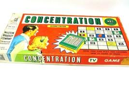 Vintage Concentration TV Board Game - Milton Bradley - $10.84