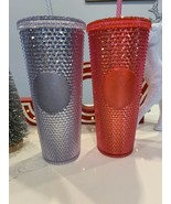 2 STARBUCKS HOLIDAY 2019 VENTI STUDDED TUMBLERS LIMITED EDITION BRAND NEW - $79.55