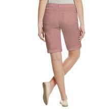 Buffalo David Bitton Ladies' Mid Rise Bermuda Shorts Pink NWT image 3