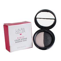 Laura Geller Baked Color Intense Eyeshadow Duo - Marble/Midnight, 7.5g/.26oz - $15.00