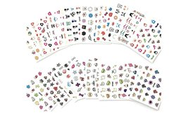 Mixed Styles 3D Nail Art Stickers Decals (10, 30 or 50 sheets) image 4
