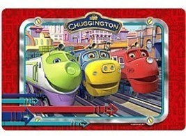 Chuggington Placemat A Set Of 4 Placemats All Of The Same Style - $12.95