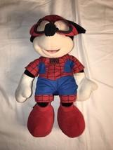 Disney Marvel Super Hero Squad Rare Spiderman Mickey Plush - $29.44