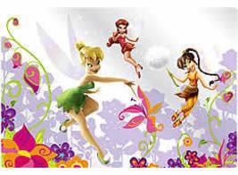 Disney Fairies Plastic Placemat Set Of 4 - $12.95
