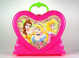 DISNEY PRINCESS HARD PLASTIC LUNCHBOX - $9.95