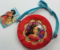Disney Elena of Avalor Red Plush Crossbody Bag Purse Clutch Pocketbook C... - $6.43