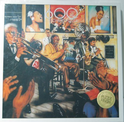 FX Schmid 90319 Exquisit Puzzle Jazz By Request 600 Pieces