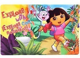 Dora Placemat A Set Of 4 Placemats All Of The Same Style - $12.95