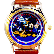 Mickey Minnie Pluto Goofy Donald, New Fossil Disney Store 10th Anniversa... - $148.35