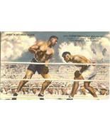 jack dempsey boxing postcard restaurant autograph facsimile variation 1 - $24.99