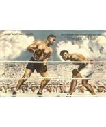 jack dempsey jess willard boxing postcard autograph sign restaurant vari... - $99.99
