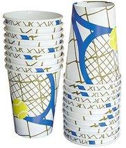 Tennis Racquet Beverage Cup 40pc - $14.99