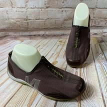 Merrell BARRADO Marrone Espresso Rete Misura 7 Zip Sneaker Scarpe Atletico Basse - $29.92