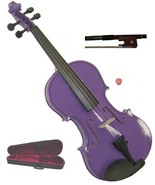 Crystalcello 1/16 Size Purple Violin with Case and Bow - $35.00