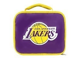 LOS ANGELES LAKERS -INSULATED LUNCHBOX - $12.12