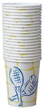 Tennis Crossed Racquet Beverage Cup 40pc - $14.99