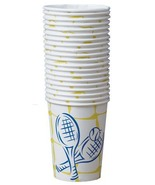 Tennis Crossed Racquet Beverage Cup 40pc - $14.99
