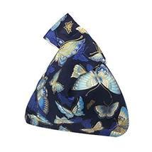 Wristlet Handbag for Women Japanese Style Handbag Cotton Bag Purse [Butterfly]