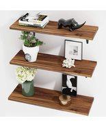 Floating Shelves, Rustic Wood Wall Storage Shelves - $79.99