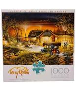 New Buffalo Games Terry Redlin Morning Warm Up Country 1000 Pc Jigsaw Pu... - $39.55