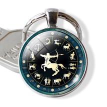 "1pcs  Keychains 12 Zodiac Signs Pendant Men's ""Woman"" Gift  jewelry - $3.99"