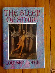 The Sleep of Stone by Louise Cooper HB DJ