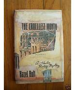 The Cruellest Month by Hazel Holt (1991) HB DJ 1st - $19.98