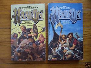 Lot of 2 Haakon pb by Eric Neilson -  Viking's Revenge and Golden Ax
