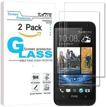HTC Desire 610 Screen Protector - [2-Pack] KATIN Premium 9H Tempered Glass , , - $18.74