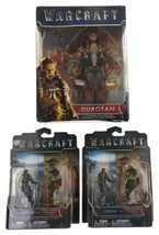 "World of Warcraft Movie Durotan 6"" Figure Lothar Vs Horder Warrior Mini ... - $14.99"