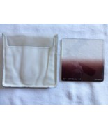 "Hoya Genuine Hoyarex 521 Gradual G2 (Grey 2) Filter 76x76mm, 3x3"" Used B... - $7.66"