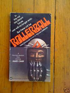 Rollerball by William Harrison pb 1975