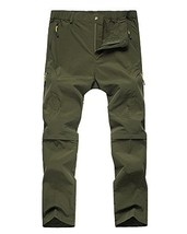 Asfixiado Kids Girls' Convertible Athletic Hiking Cargo Pants,Youth Outd... - $30.10