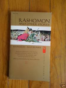 Rashomon and Other Stories by Ryunosuke Akutagawa pb 1959