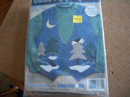 Felt & Fabric Vest Craft Appliques - $10.00