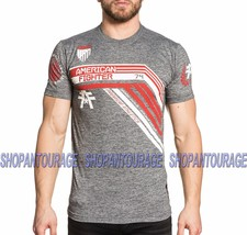 American Fighter Unity FM4872 Men`s Blade Grey T-shirt By Affliction - $34.95
