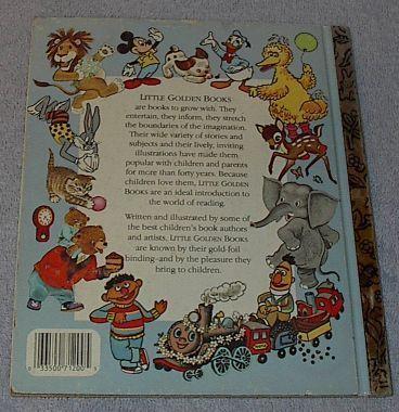 Big Bird's Day on the Farm Sesame Street Vintage Little Golden Book