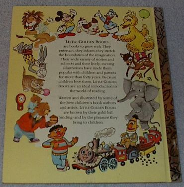 Count All the Way to Sesame Street Vintage Little Golden Book